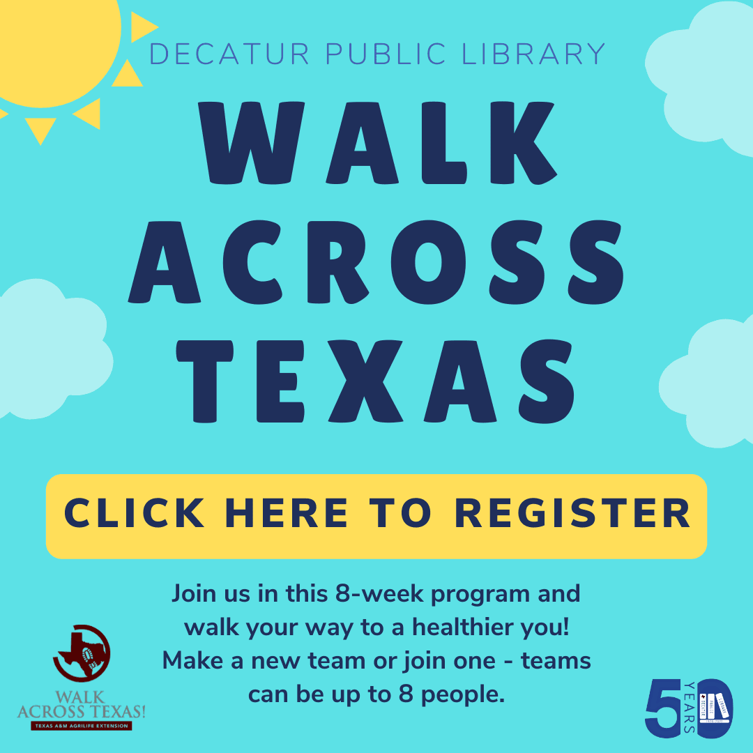 Register for Walk Across Texas