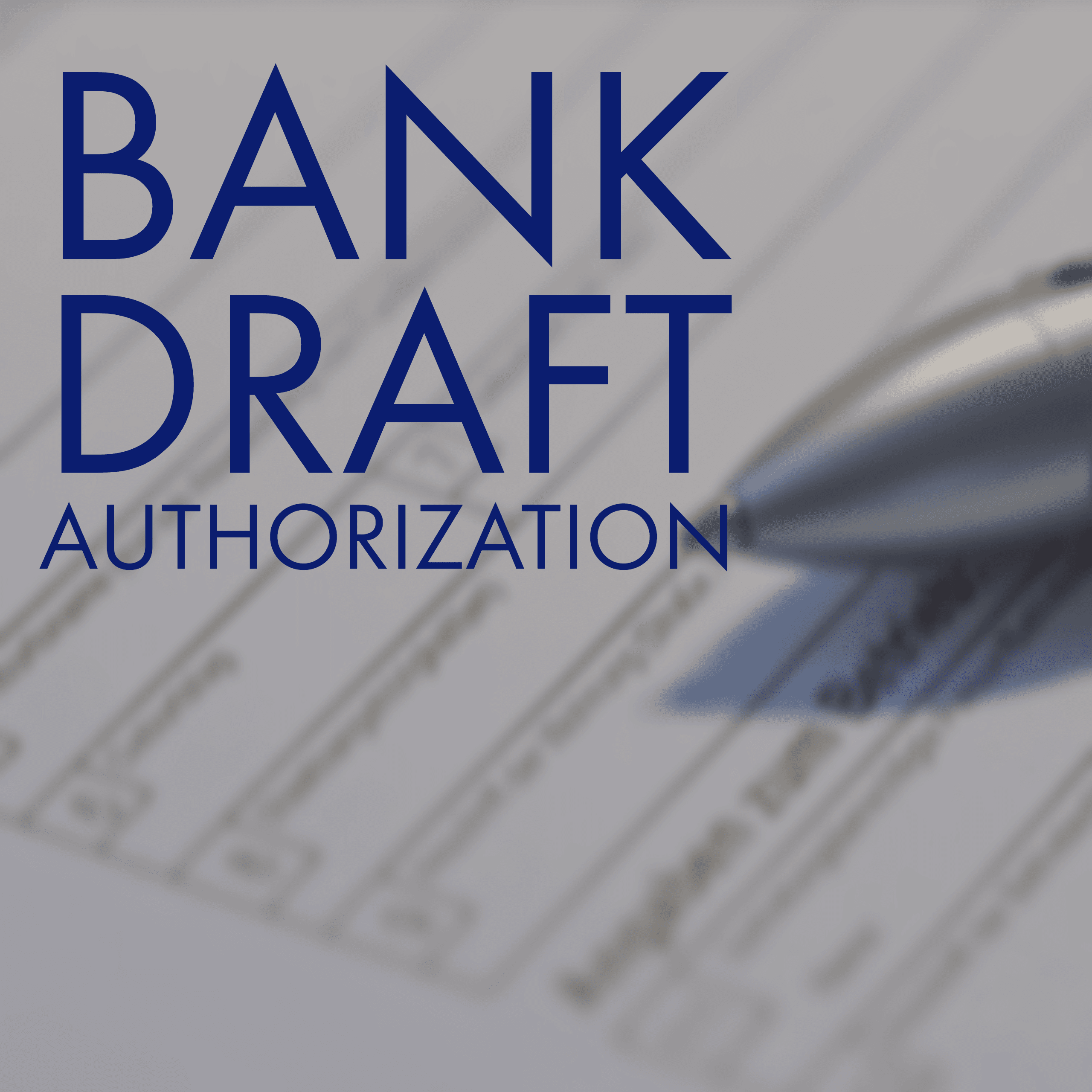 Auto Bank Draft Opens in new window